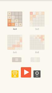 screenshot of 2048 Original version 2.7