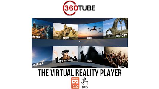 Download 360TUBE–VR apps games & videos  APK