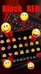 Download 3D Black Red Keyboard 10001003 APK