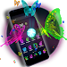 Download 3D Neon Butterfly Theme 1.1.9 APK