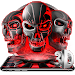 Download 3D Tech Skull Launcher - Evil Halloween wallpaper 5.58.12 APK