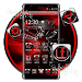 Download 3d black red theme 1.1.3 APK
