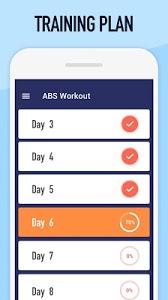 screenshot of Abs Workout version 1.0.1