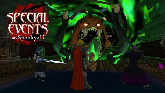 screenshot of AdventureQuest 3D MMO RPG version 1.18.5