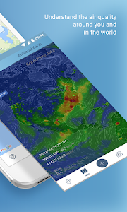 screenshot of Air Quality | AirVisual version 4.3.1-20