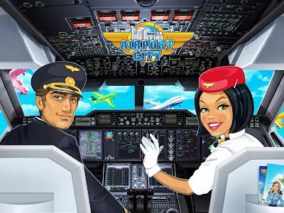 screenshot of Airport City version 3.21.02