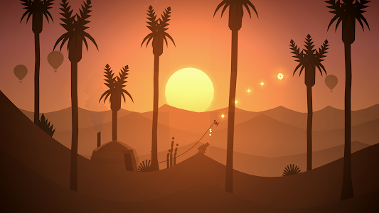 screenshot of Alto's Odyssey version 1.0.3