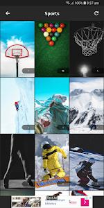 screenshot of Samsung Galaxy HD Wallpapers version 1.1