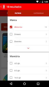 screenshot of Americanas version 2.0.4