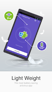 screenshot of Antivirus Free-Mobile Security version 7.8.08.00