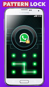 screenshot of Applock Pattern & Themes ! version 1.4
