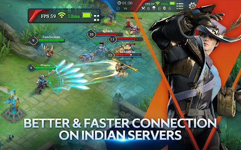 screenshot of Arena of Valor: 5v5 Battle version 1.26.1.2