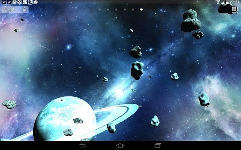 Download Asteroids 3D live wallpaper 4.0.0.7 APK