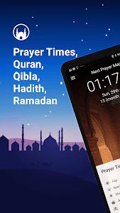 screenshot of Athan Pro Muslim: Prayer Times Quran & Qibla version 3.0.48