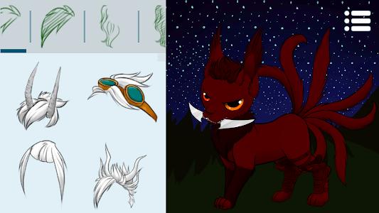 screenshot of Avatar Maker: Cats 2 version 2.5.3.1