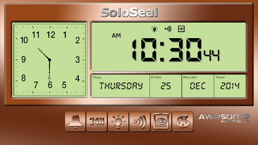 screenshot of Awesome Alarm Clock version 1.70