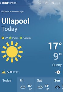 Download BBC Weather 2.0.5 APK