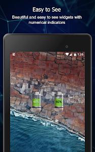 screenshot of Battery Widget Charge Level % version 5.1.2
