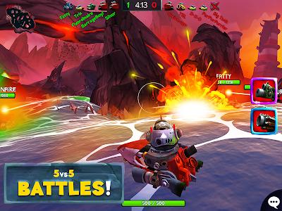 screenshot of Battle Bay version 3.2.20442
