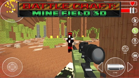screenshot of Battle Craft: Mine Field 3D version C16.6