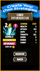 screenshot of Battle Royale Simulator version 1.0.1