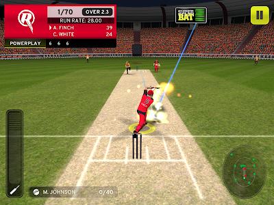 screenshot of Big Bash Cricket version 2.0.3