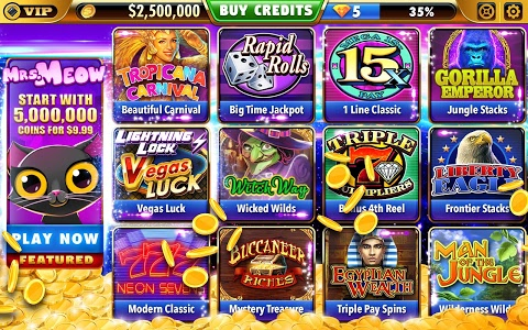 screenshot of Big Bonus Slots - Free Las Vegas Casino Slot Game version 1.55.0