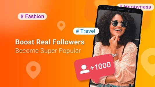 screenshot of Boost Royal Followers for Nearby 8000+ Likes Tags version 1.0.1
