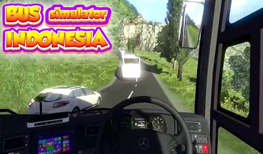 screenshot of Bus Simulator Indonesia Pro 3D version 1.0
