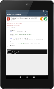 Download C++ Programming with Output 2.0 APK