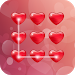 Download Love Heart CM Security Theme 1.0.0 APK