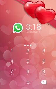 Download Love Heart CM Security Theme 1.0.0 APK