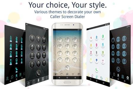 screenshot of Caller Screen Dialer Caller ID version 8.11
