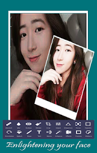screenshot of Camera b612 New Editor 2017 version 1.0.1