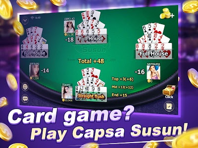 screenshot of Capsa Susun online version 1.7.0