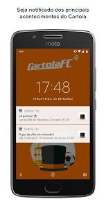 screenshot of CartolaFC version 6.471.470.061220182024