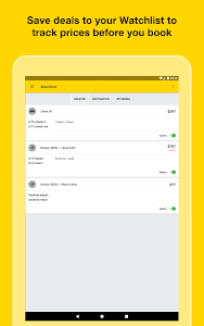screenshot of Cheapflights – Flight Search version Varies with device