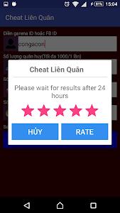 Download Cheat Lien quan mobile prank 1.2 APK