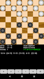 screenshot of Checkers for Android version 2.8.7