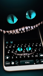 screenshot of Cheshire Devil Cat Smile Keyboard version 1.0