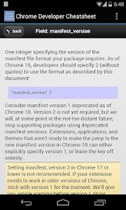 Download Chrome Developer Cheatsheet 2.11.35 APK