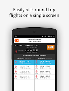 screenshot of Cleartrip-Hotels Flights IRCTC version 5.5