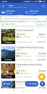 screenshot of Cleartrip - Flights, Hotels & Activities App version 19.1.0