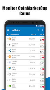 Download Coin Market-Live Bitcoin Price Charts,ICO,EUR,USD 1.12.1 APK