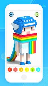 Download Color by Number 3D - Voxel Pixel Art Coloring Book 1.3 APK