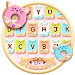Download Colorful Donuts Button Keyboard Theme 1.0 APK