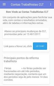 Download Contas Trabalhistas CLT (2018) 0.063.0 APK