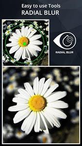 screenshot of DSLR Camera Blur Effects version 1.6