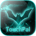 Download TouchPal Dark Neon Green Theme 6.8.15.2018 APK