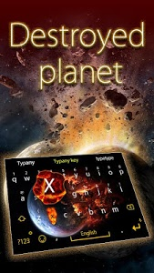 Download Destroyed Planet Emoji Theme 4.5 APK
